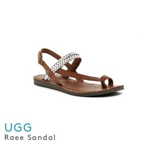 UGG Raee Sandals Size 9W